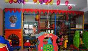 Детский игровой лабиринт с детской комнатой.