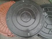 Смотровой канализационный люк полимер-песчаный