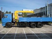Услуги камаза- манипулятора по погрузке-выгрузке и перевозке грузов
