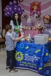 Детское научное шоу в Дагестане.