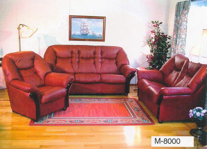 Новая кожаная мебель из финляндии